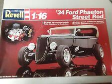 1/16 Revell '34 Ford Phaeton Street Rod - Kit # 7473 - Vintage Kit