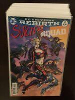 Suicide Squad Rebirth Lot 0f 26 Books, #s 2-30 Not Complete (DC Comics)
