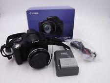 Canon PowerShot SX30 IS 14.1 MP 35.0x Optical Zoom UVGC Black