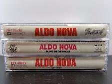Aldo Nova Cassette Tapes Lot Of 3 self blood twitch 2a