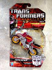 Transformers JUNKHEAP Autobot GENERATIONS motorcycle MOSC Classics JUNKICON g1