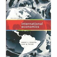 International Economics by Alan M. Taylor, Robert Christopher Feenstra...