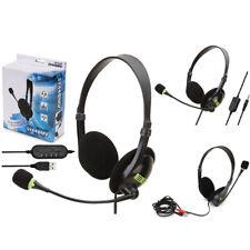 Stereo Headphones Headset Online Teaching Gaming Earphones For PS4 Laptop PC PS4