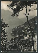 Blevio ( Como ) - saluti da .... - viaggiata nel 1951