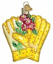 Old World Christmas 32329 Glass Blown Gardening Gloves Ornament