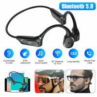 Bone Conduction Headset Wireless Bluetooth5.0 Outdoor Sport Open Ear Headphones