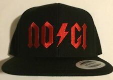 NO-GI AC DC Jiu Jitsu Snapback Hat New mma ufc bjj Gracie Grappling  10th Planet