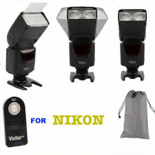 ZOOM XENON FLASH +REMOTE FOR NIKON D3000 D3100 D3200 D40 D50 D60 D70 D80 D90
