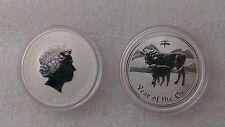 "Australian Lunar II ""Year of the Ox""  2009, 1 Oz Silver coin"