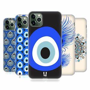 HEAD CASE DESIGNS EVIL EYE SOFT GEL CASE & WALLPAPER FOR APPLE iPHONE PHONES