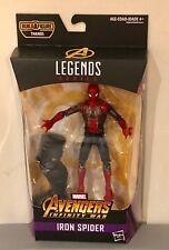 """Iron Spider 6"""" Inch Marvel Legends Spider-Man Thanos BAF Avengers Infinity War"""