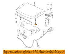 NISSAN OEM Hood-Insulator Insulation Pad Liner Clip 658464Z000