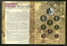SET EURO OLANDA  Netherlands 400 JAAR VOC 1 1602 - 2002 Euro Set NUMERO 1 SILVER