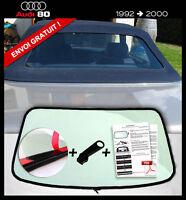 Lunette arrière AUDI 80 Cabriolet teinté VERT fermeture éclair envoi gratuit