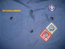 Boy Scouts Of America Uniform Short Sleeve Shirt Youth Greater Niagra Fronitier