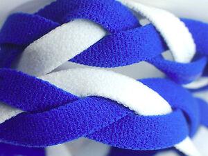 NEW! Royal Blue White Grippy Band Headband Hair Sport Soccer Softball Stretchy