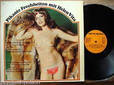 HELEN VITA - Pikante Frechheiten  LP  NUDE - CHEESECAKE COVER  Delta Music 1974