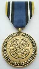 OPERATIONS AGAINST WEST INDIAN PIRATES COMMEMORATIVE MEDAL
