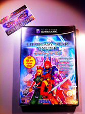 PHANTASY STAR 1 & 2 SIGILLATO NEW FACTORY SEALED NINTENDO GAMECUBE RARE GC WII