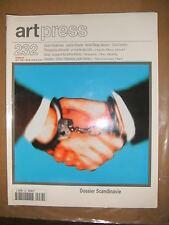 Art Press N°232 Dossier Scandinavie Niedermayr Koester Saykvue Fanchon