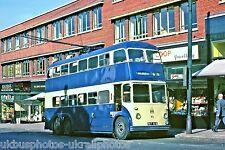 Rotherham Corporation 31 FET615 Daimler Trolley Bus Photo Ref P680