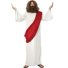Jesus God White Long Costume Fancy Dress Book Week Costume