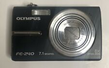 Olympus FE-240 Digital Camera Point And Shoot No Charger