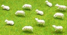 1:150 Scale N Gauge Model Railway Sheep - Pack of 10