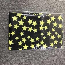 Señoras ** Negro y Amarillo Estrellas ** Rock coro Colores Bufanda 65 X 28 Nuevo