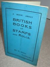BOOKLET British books of stamps & rolls (coils) published 1925 - see description