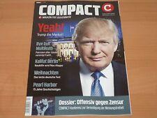 """COMPACT Magazin für Souveränität """"Yeah! Trump die Merkel!"""" Ausgabe 12/2016 1A!"""