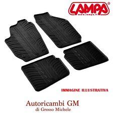 Set tappeti su misura in gomma Fiat 500X 02/15> Jeep Renegade 09/14> LAMPA 24592