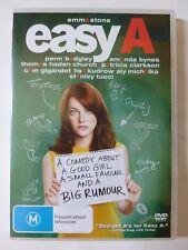 Easy A [M] (DVD, 2010, R4)