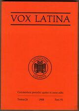 Studium und Wissen Bücher auf Lateinisch