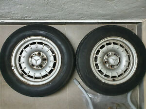 Mercedes W123 Barockfelgen Alufelgen Räder 6 1/2 J×14 H2
