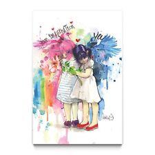 "LORA ZOMBIE ""You And Your Imagination"" signée (street art, pop art, banksy"