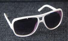 GIL Design Sonnenbrille Pilotenbrille Weiß UV400 NEU A4