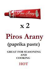 2 pcs  160g Original Hungarian **HOT** PIROS ARANY (RED GOLD) - Paprika paste