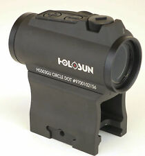 Holosun HS503GU Micro Red Dot Sight (2 MOA) w/ Riser Paralow *NEW*