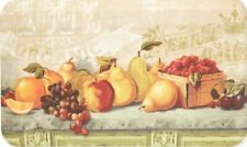 """ANTI FATIGUE KITCHEN CUSHION MAT (18""""x30"""") (Not PVC) FRUITS ON THE TABLE, SS"""