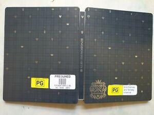 Kingdom hearts 3 III deluxe edition collector steelbook metal case 🇦🇺 NO GAME