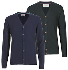 Marks and Spencer Cotton Button-Front Cardigans for Men