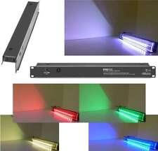 "Adam Hall 5 Farben 19"" LED Rack Beleuchtung 1 HE Multicolour Racklight Racklampe"