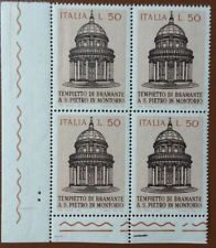 ITALIA 1971 - quartina  MNH**  - Bramante's Temple - Mi: IT 1336