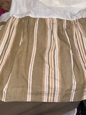 Nautical Twin Size Bed Skirt Bed Ruffle Bed Duster 14� Drop