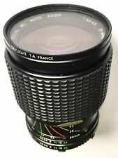 FOCAL AUTO ZOOM 28-80 - f/3.5-4.5 MANUAL FOCUS LENS WITH SKYLITE FILTER AND CASE