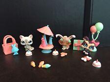 LPS Littlest Pet Shop Balloon N' Treats Party Set # 1471 1472 1473 Bunny Cat Dog