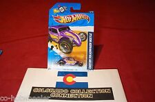 Hot Wheels - Custom Volkswagen Beetle 2012 HW Racing 176/247 1:64 Purple 6/10