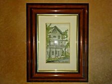 Ellen Jones Watercolor Print Art Clifton Hotel Hermitage Restaurant Trummer's