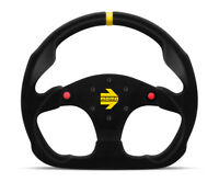 MOMO Steering Wheel Quark Blue Polyurethane 350mm Tuning Sport Racing